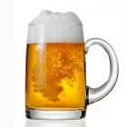 China beer jar manufacturer beer can shaped glass wholesale