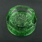 China China glass ashtray factory unusual green ashtrays wholesale factory