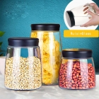 China China glass bottle company exporter preserving jars sealed glass jars wholesale factory