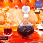 China China glass decanter with stopper supplier factory