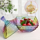 China China high end glass candy bowl fashion creative candy cans wholesale factory