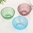 China China salad bowls manufacturer coloured glass bowls supplier factory
