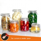 China small glass jars manufacturer glass storage jars and glass spice jars supplier