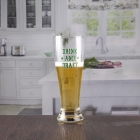 China China tall pilsner beer glass with custom logo manufacturer factory