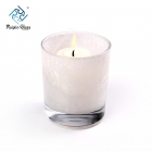 China China white glass candlestick factory and supplier factory