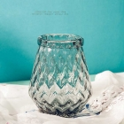 China Clear flower vases home decor vases supplier factory