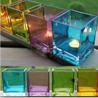 China Colored glass candle holders manufacturer,clear glass votive candle holders supplier factory