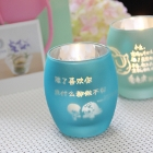 China Custom lettering colorful candle holders factory multiple candle holder wholesale factory
