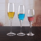 China Custom made champagne glasses crystal trumpet champagne flutes in bulk factory