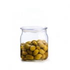 China Glass bell jars wholesale glass jars with plastic lid for sale factory