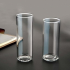 China Glass cup manufacturer clear glass cups supplier factory