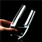 China Glass drinking cups for sale types of beverage glasses wholesale factory