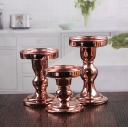 China Glass pillar candle holders replacement glass candle holders wholesale factory