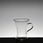China High borosilicate glass tea cup with handle china manufacturer factory