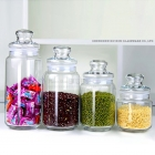 China China new design storage jars for sale with great price and glass jars with lids suppliers factory