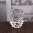 China Personalised dimpled whisky tumbler custom perfect whiskey glass factory