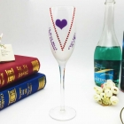 China Pretty wine glasses champagne cups and art wine glasses manufacturer factory