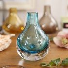 China Round glass vases manufacturer blown glass vases,glass vase wholesale factory