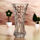 China Sales promotion glass vases cheap import flowers vase wedding vase supplier factory