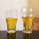China Unique shape glass beer mug supplier factory
