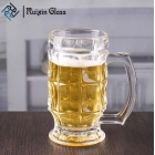China Wholesale 380ml unique shape chalice pint glasses  hand blown beer glasses in bulk factory