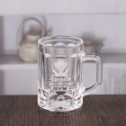 China Wholesale 4 oz mini beer glasses customize beer mug with logo factory