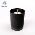 China Wholesale Matte black 8oz glass candle holder factory
