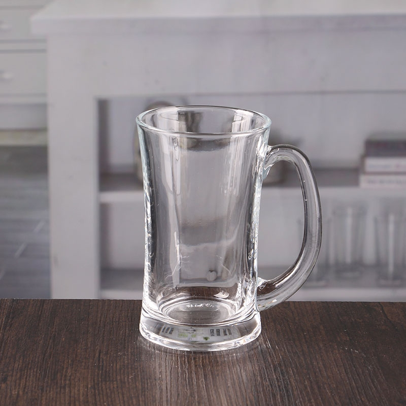 13oz Wide Mouth Beer Glass With Handle Wholesale