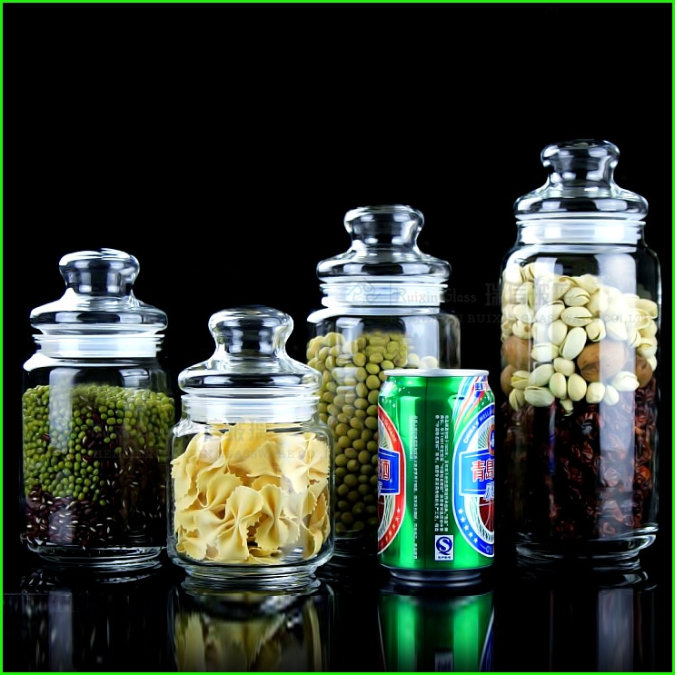 china best selling small glass jars bottles supplier and large glass jars wholesaler