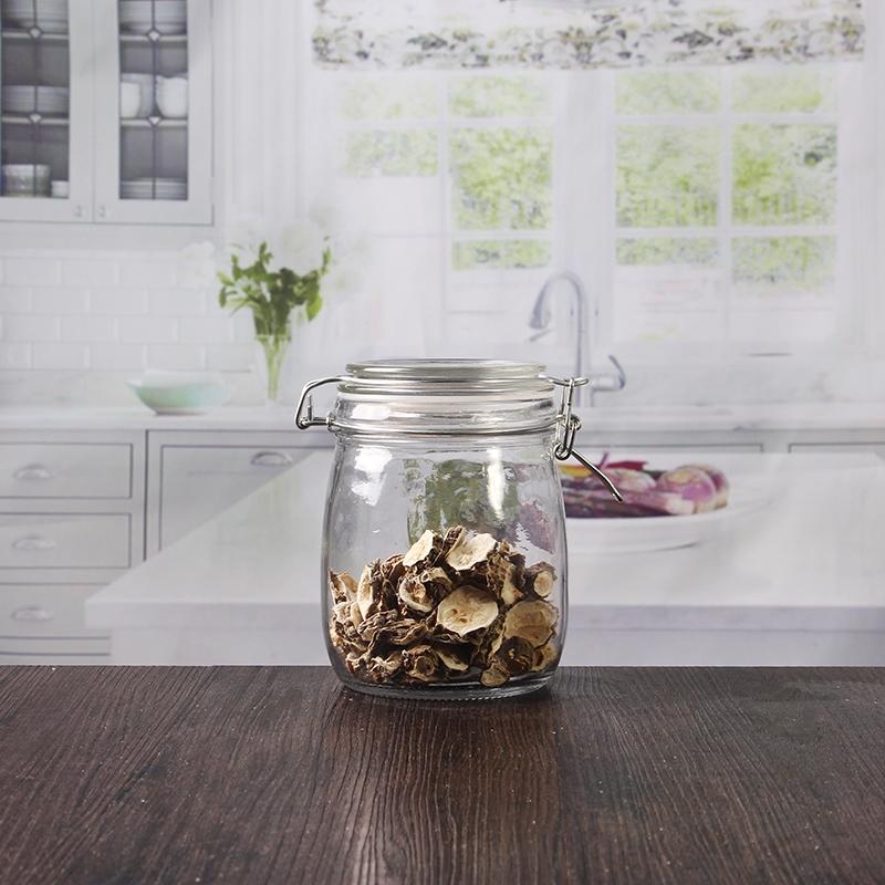 vente en gros bon march 650ml 22 oz bocaux de conserve. Black Bedroom Furniture Sets. Home Design Ideas
