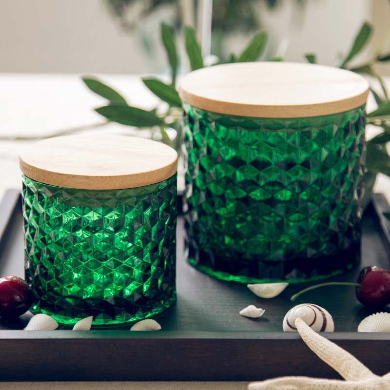 Brand New Glass Jars With Glass Lids For Wholesale