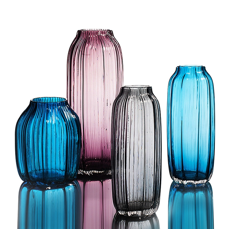 China Glass Vases On Salecustom Made Hand Blown Glass Vasecolored