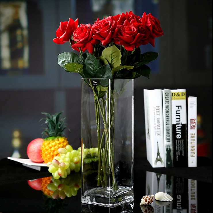 China Import Blown Glass Vase Decoration Vases Supplier