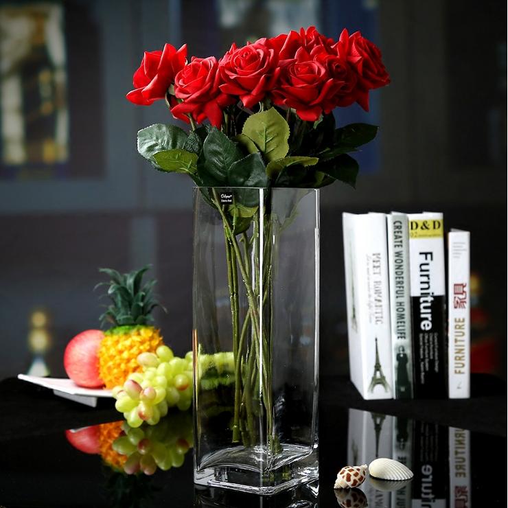 China Import aus geblasenem Glas Vase Dekoration Vasen Lieferanten ...