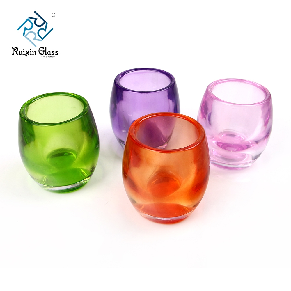 china colored glass candle holders wholesale