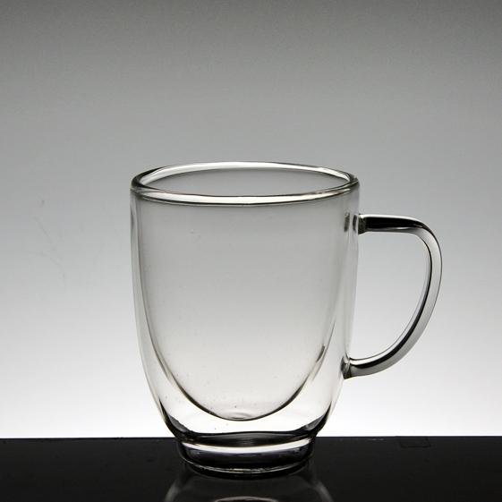 la f brica de china vaso de vidrio de doble pared del vaso