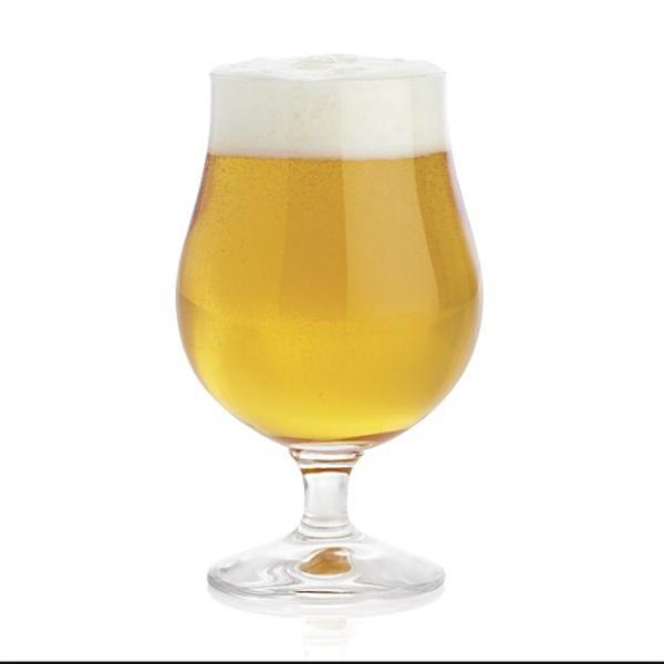 China Glass Beer Steins Manufacturer Tulip Beer Glass Supplier