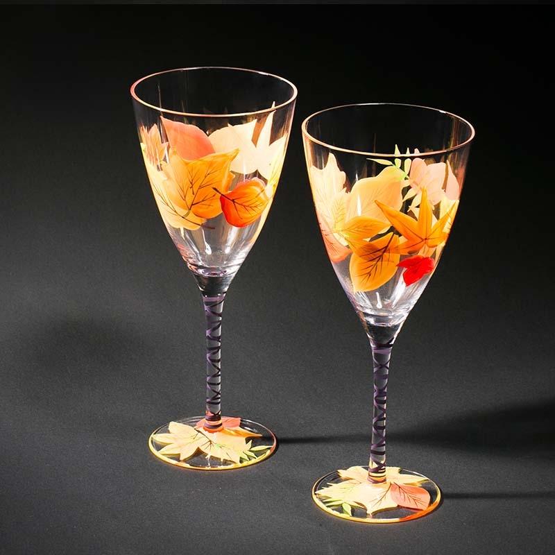 Customised Wine Glasses