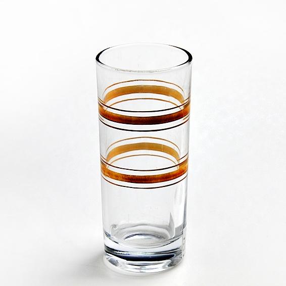 cina gold rim vendita calda bicchieri oro bicchieri di