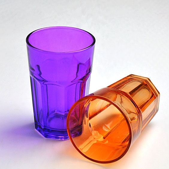 China nueva color pulverizaci n taza de cristal del vaso for Vasos de colores de cristal
