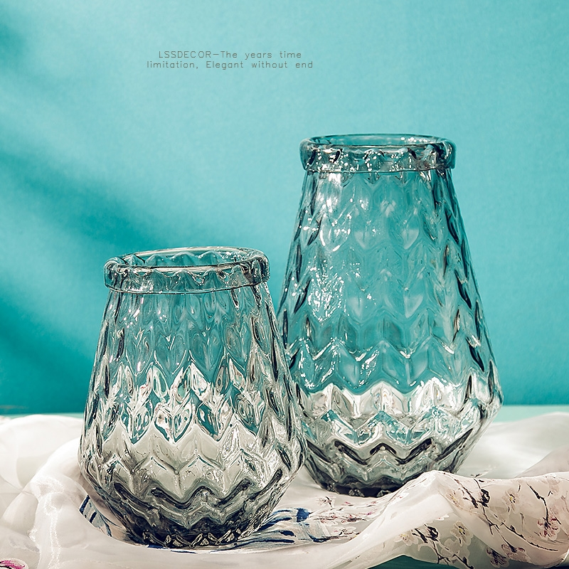 Home Decor Vendors: Clear Flower Vases Home Decor Vases Supplier