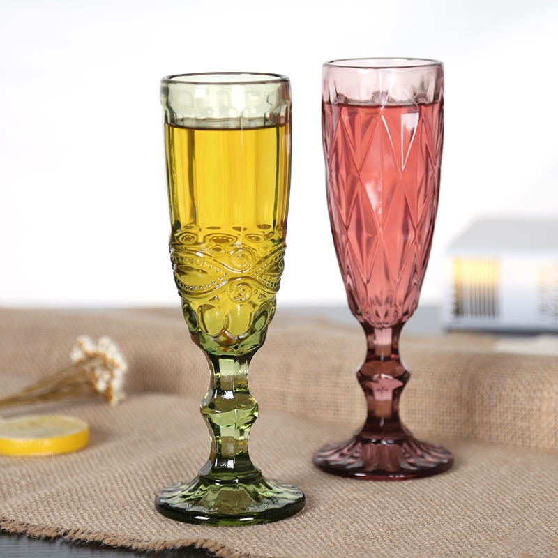 Coloured glass champagne flutes supplier unique toasting flutes old fashioned champagne glasses - Unusual champagne flutes ...
