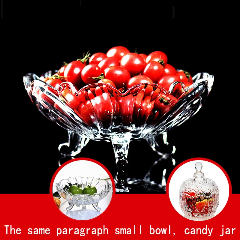 Crystal Glass Fruit Dish Manufacturer Fruit Plate Wholesale
