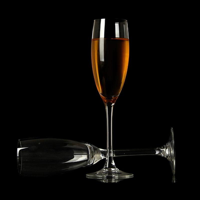 Custom flute champagne glasses supplier manufacturer