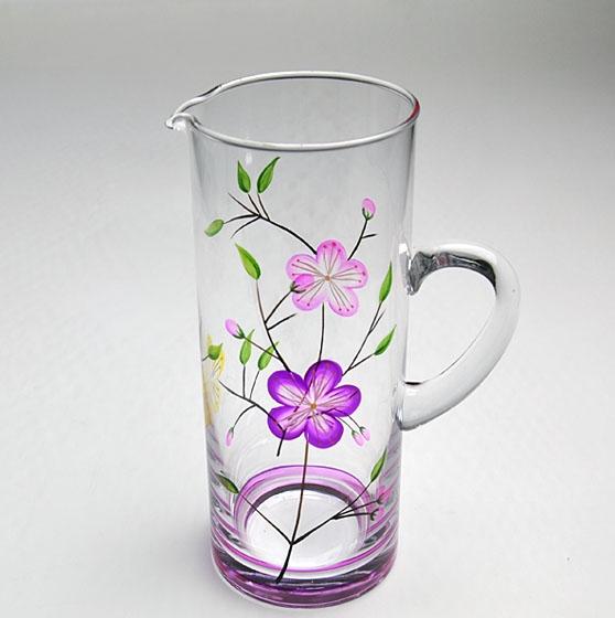 Custom painted wine glasses christmas wine glasses hand for Hand painted glassware