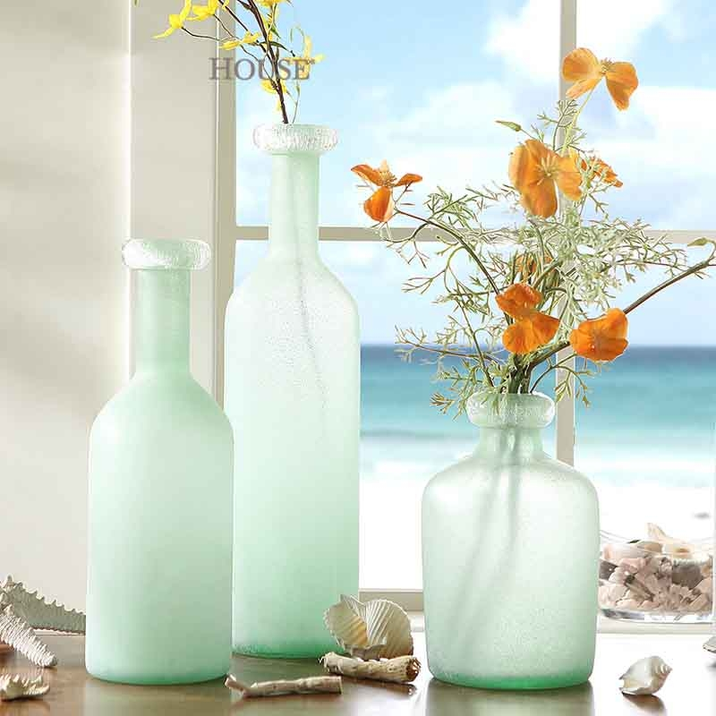 Decorated Vases Small Glass Vases Wholesale