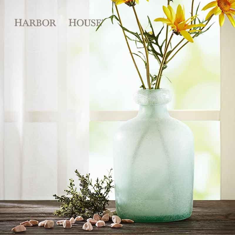 Jarrones decorados peque os floreros de cristal al por mayor - Jarrones de cristal decorados ...