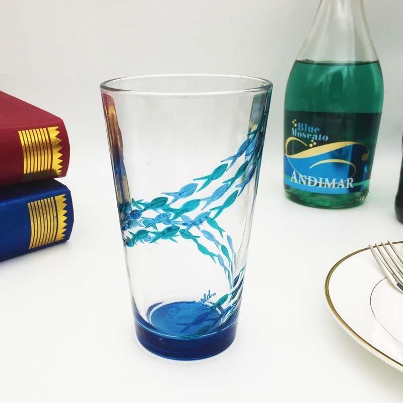 Diy benutzerdefinierte weingl ser und einzigartige for Unique glass painting designs