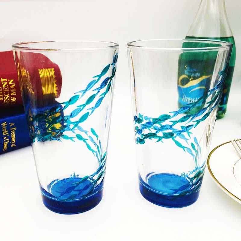 diy custom wine glasses and unique glass painting designs
