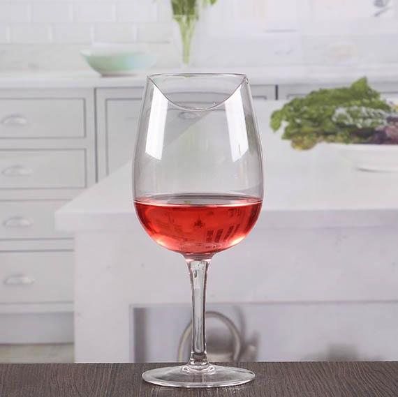 Elegant crystal red wine glasses stemware glasses top for Red glass wine bottles suppliers